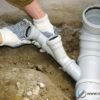 Трубы для канализации пвх, виды комплектующих для наружной и внутренней канализации