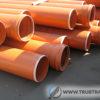 Трубы пвх наружные рыжие для канализации – размеры и характеристики