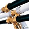 Соединение труб ПНД с металлическими трубами