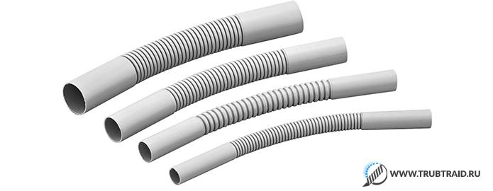 8 подвидов ПВХ труб  сортамент и их применение