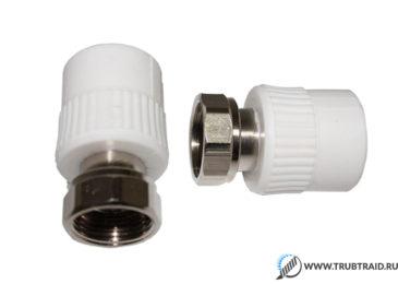 Муфта полипропиленовая соединительная диаметром 25 – 40 мм характеристики и ГОСТ