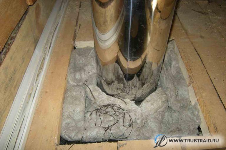 Чем изолировать металлическую трубу дымохода – делаем короб и другие способы