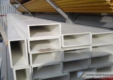 Прямоугольные трубы ПВХ и пластиковые изделия для вентиляции прямоугольного сечения