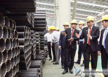 Новый трубный завод от вьетнамской компании