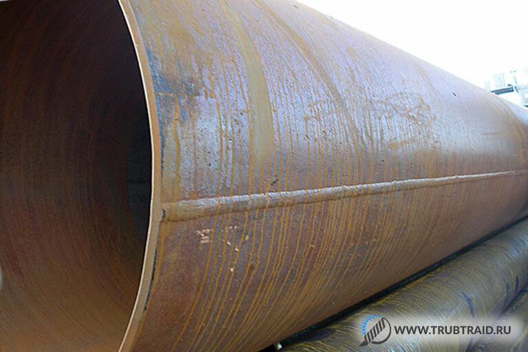 завод по производству сварных труб больших размеров