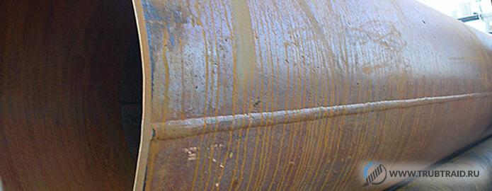 завод по производству сварных труб большого диаметра в США
