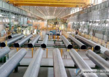 На заводе Al Gharbia Pipe начался выпуск труб большого диаметра