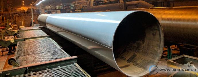 Покрытие нового поколения внедрено на Ижорском трубном заводе