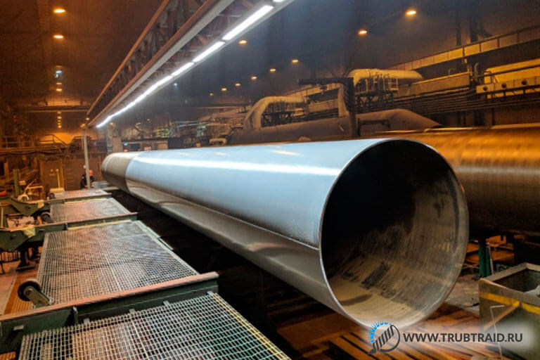 Ижорский трубный завод выполнил заказ для порта Сабетта
