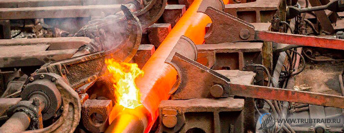 Процесс производства в трубной промышленности