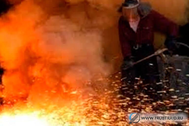Производство в металлургии