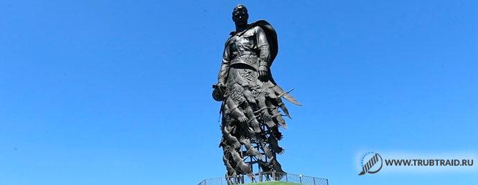 Трубный каркас от Белэнергомаш для памятника Советскому солдату