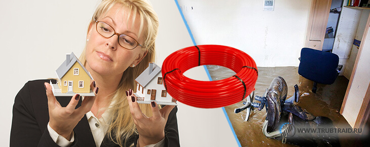 ошибки монтажа водяного теплого пола - подбор труб